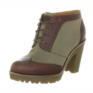 Sperry Top Sider Emory Ankle Boots Leather
